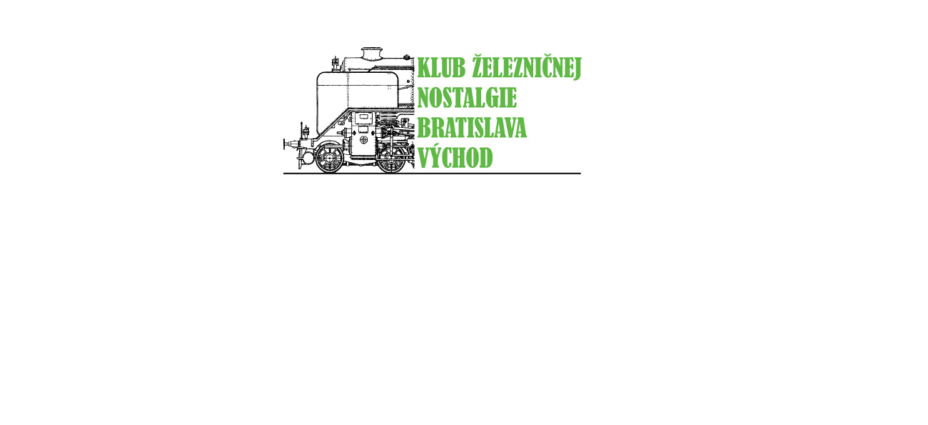 Založenie Klubu železničnej nostalgie Bratislava východ